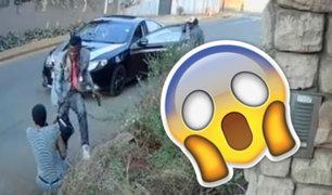 YouTube: Una joven se enfrenta a ladrones armados por defender su tesis [VIDEO]