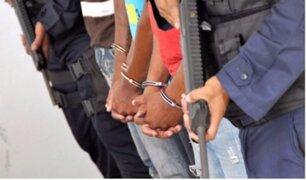 Puente Piedra: tres raqueteros dispararon contra policías cuando eran intervenidos