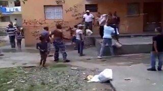 Lío familiar: pelea entre hermanos, tíos y sobrinos deja 5 heridos en la Victoria