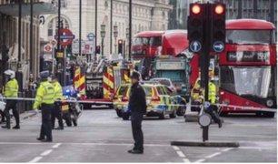 Atentado en Londrés: detienen a sospecho y alerta se mantiene en estado 'crítico'