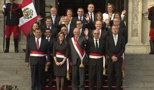 PPK tomó juramento al nuevo Gabinete Ministerial