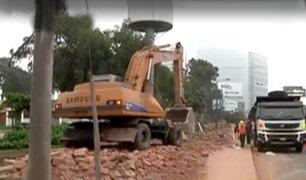 Intercambio Vial El Derby: municipio de Lima continúa recuperando espacios públicos
