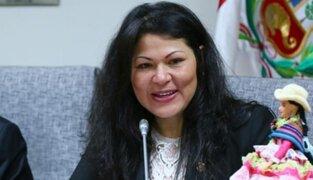Comisión de Ética verá el caso de Yesenia Ponce el 3 de julio