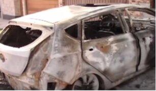 Carapongo: presuntos sicarios incendian auto equivocado