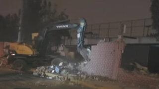 Continúa la disputa entre la MML y el Jockey Club tras demolición de muro