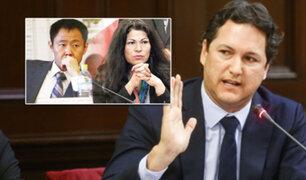Daniel Salaverry se pronunció sobre proceso disciplinario a Kenji Fujimori y Yesenia Ponce