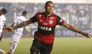 Paolo Guerrero marca nuevo récord tras anotar con Flamengo