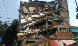 Terremotos en México ocurren cuando el país conmemoraba catástrofe de 1985 [FOTOS]