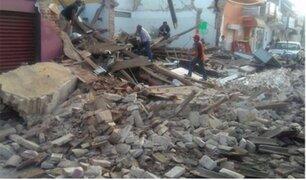 Familiares de peruanos llegaron a Embajada mexicana en Lima tras terremoto