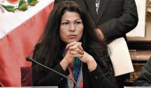 Comisión de Ética aprueba por unanimidad investigar a congresista Yesenia Ponce