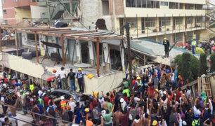 México: continúan tareas de rescate de las víctimas del devastador terremoto