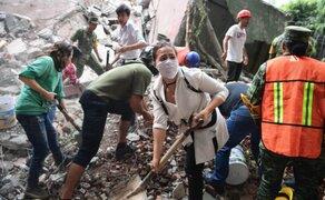 Gobierno mexicano decretó 3 días de luto nacional por víctimas de terremoto