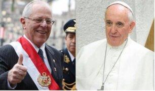 PPK llegó a Roma para formalizar la próxima visita del Papa