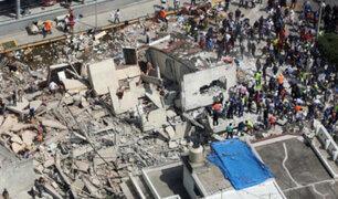 Líderes mundiales se solidarizan con víctimas del terremoto en México