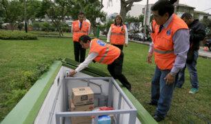 Miraflores cuenta con almacenes subterráneos ante posibles desastres