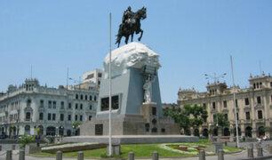 Municipio entrega restaurada Plaza San Martín que había sido deteriorada por huelga de maestros