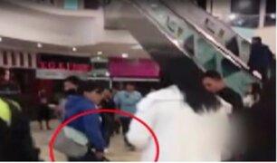 Arequipa: madre golpea en el rostro con una correa a su menor hijo