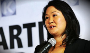 Keiko anuncia acciones legales contra Fiscalía por calificar a FP como organización criminal