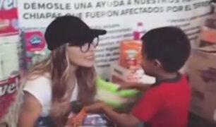 Celebridades mexicanas se solidarizan con su país tras devastador terremoto