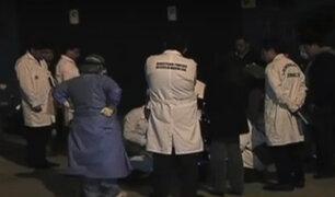 Desconocidos acribillan a hombre en el Cercado de Lima