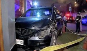 Surco: sereno es arrollado por delincuentes durante una persecución