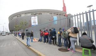 Revendedores vuelven a tomar los exteriores del Estadio Nacional
