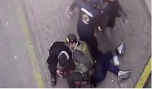 SJM: banda de 'cogoteros' asalta a hombre tras salir de cantina