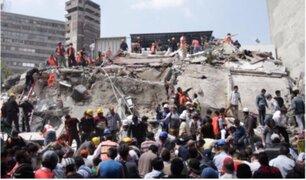 México: niños del colegio que se derrumbó cuentan su testimonio