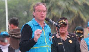 Ministro Basombrío condena emboscada a policías y anuncia castigo para responsables