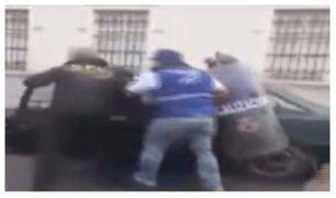 Violencia en vía pública: taxista denuncia agresión por parte de fiscalizadores