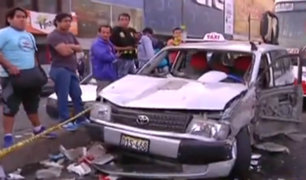 Comas: conductor presuntamente ebrio atropelló y mató a vendedor ambulante