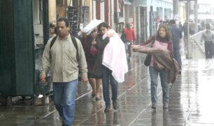 Senamhi anuncia que lloviznas y humedad continuarán en los próximos días