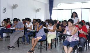 24 mil docentes no rindieron prueba para ascender en la escala magisterial