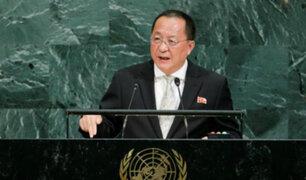 Corea del Norte amenaza con destruir aviones estadounidenses fuera de su territorio