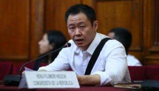 Kenji Fujimori presentó propuesta de bicameralidad en el Congreso