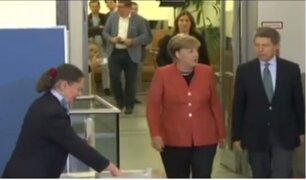 Angela Merkel asegura que su partido es el más fuerte de Alemania