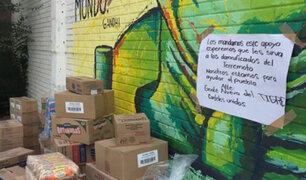 México: narcos entregan alimentos para damnificados del terremoto