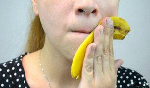La cáscara del plátano puede evitar diversas enfermedades