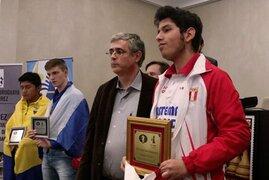 ¡Vamos Perú! joven es campeón mundial de ajedrez