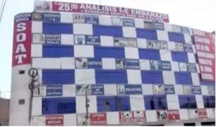 Cuestionan clínica en SJL por negligente edificación en uno de sus extremos