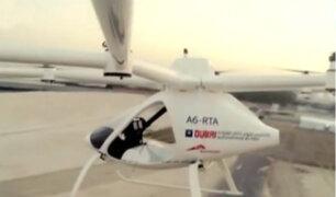 Dubai: sobrevuelan los primeros taxi - drones con una cabina para dos ocupantes
