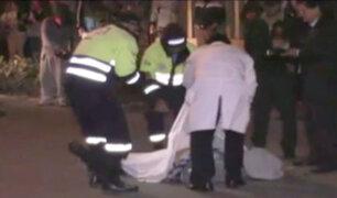 San Juan de Miraflores: anciano muere arrollado por camión de Sedapal