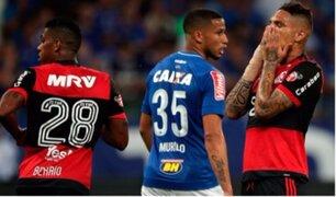 Con Guerrero y Trauco: Flamengo cayó en final de la Copa de Brasil