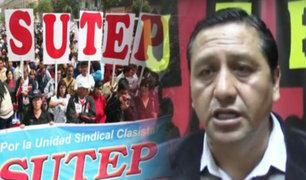 SUTEP anuncia marcha para el 29 de setiembre