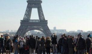 Francia: huelga de trabajadores afectó acceso a la Torre Eiffel