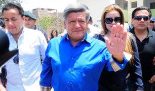 Reacciones tras decisión del PJ de absolver a César Acuña por caso 'Plata como cancha'