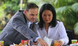 Ministerio Público dispone investigar a Keiko Fujimori y su esposo por crimen organizado