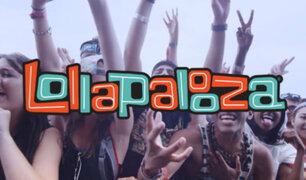 Lollapalooza 2018 lanza su line up con Pearl Jam y RHCP