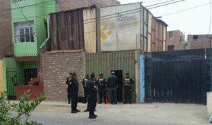 Balacera en el Callao deja un policía herido