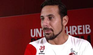 """Claudio Pizarro afirma que """"El nivel de la liga peruana está un poco bajo"""""""